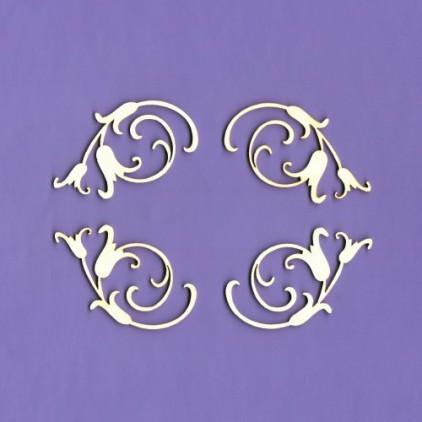 Tekturka - Ornamenty Majestic 2 - Crafty Moly
