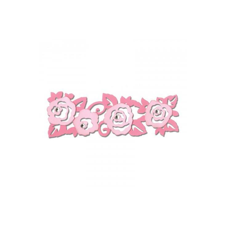 Wykrojnik do wycinania - Sizzix THINLITS 660749 - Roses