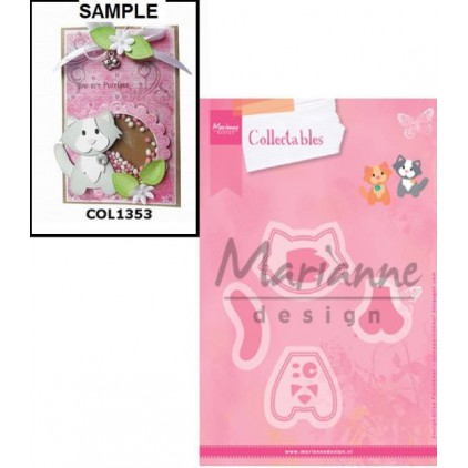 Marianne Design Collectables Eline's Cat die - COL1353