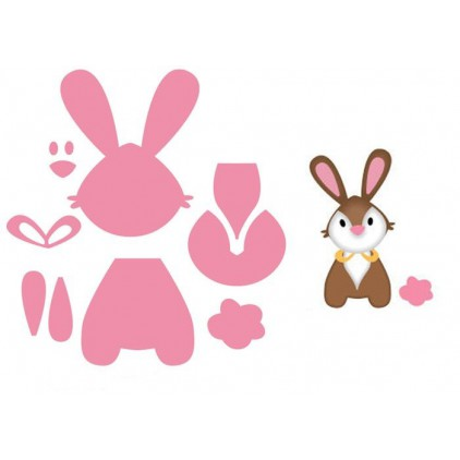 Die-cut- Marianne Design Collectables Eline's Bunny - COL135u