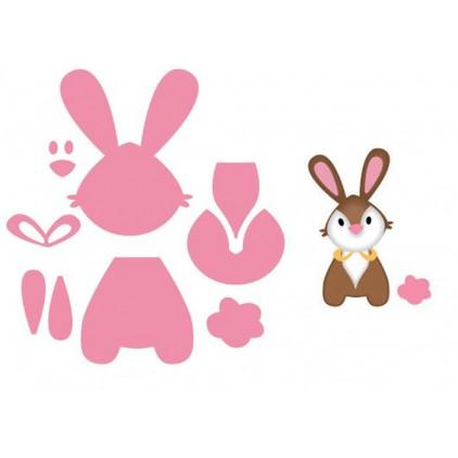 Wykrojniki króliczek - Marianne Design Collectables - COL1354