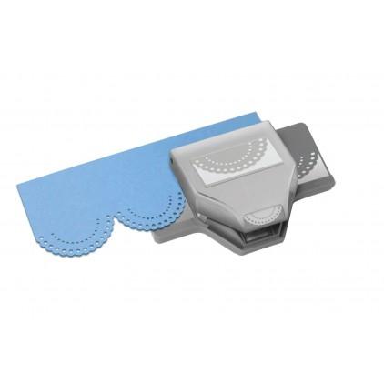 Dziurkacz brzegowy  Dotted Scallop - Eksuccess - 54-50073
