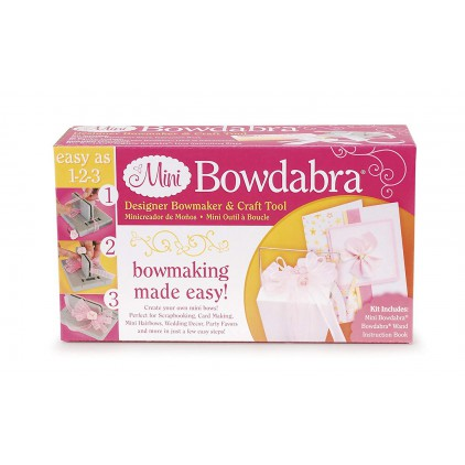 A tool for making bows - Mini Bowdabra - Darice