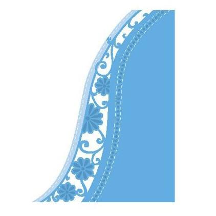Die-cut- Marianne Design - Flower wave - Creatables - LR0518