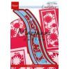 Wykrojnik - Marianne Design - Flower wave - Creatables - LR0518