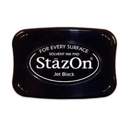 Wodoodporny tusz - StazOn - Jet Black