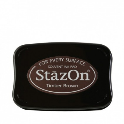 Archival Ink - StazOn - Timber Brown
