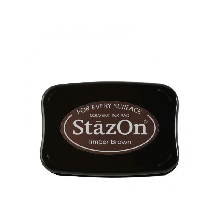 Wodoodporny tusz - StazOn - Timber Brown