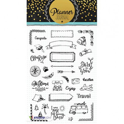 Stempel / pieczątka - Studio Light - Planner Journal  - STAMPPJ07
