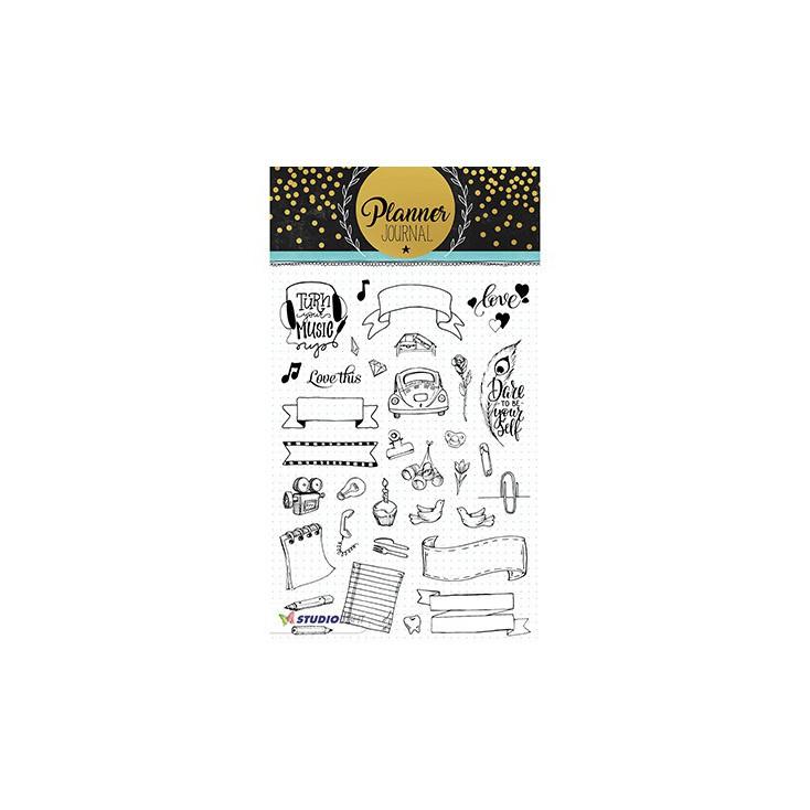 Stempel / pieczątka - Stucio Light - Planner Journal  - STAMPPJ08