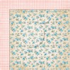 Double sided scrapbooking paper - Sense and sensibility 07