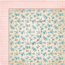 Dwustronny papier do scrapbookingu - Sense and sensibility 07