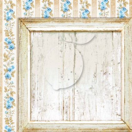 Double sided scrapbooking paper - Sense and sensibility 05