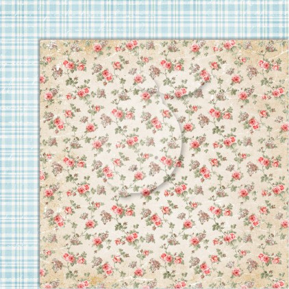 Double sided scrapbooking paper - Sense and sensibility 04