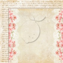Dwustronny papier do scrapbookingu - Sense and sensibility 02