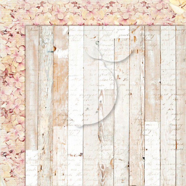 Double sided scrapbooking paper - Grow old with me 05