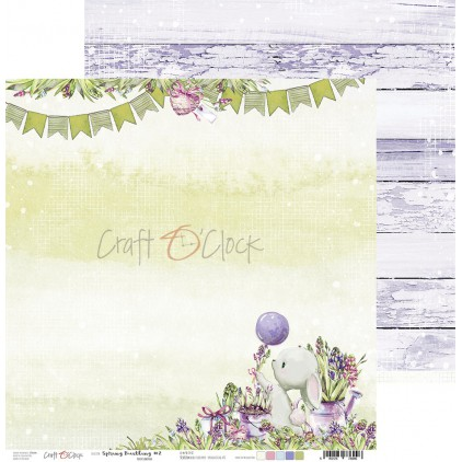 Papier do tworzenia kartek i scrapbookingu - Craft O Clock - Spring Bustling 02