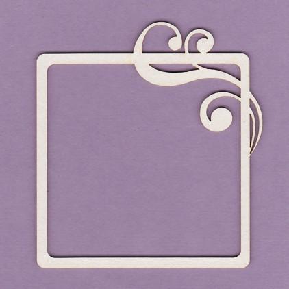 Tekturka - Crafty Moly - Ramka kwadratowa mała - G2