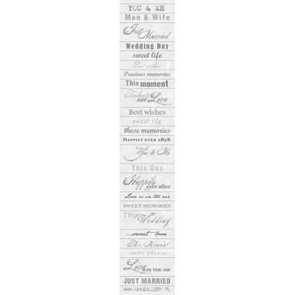 Pasek papieru z napisami - UHK Gallery -Diamonds - język angielski