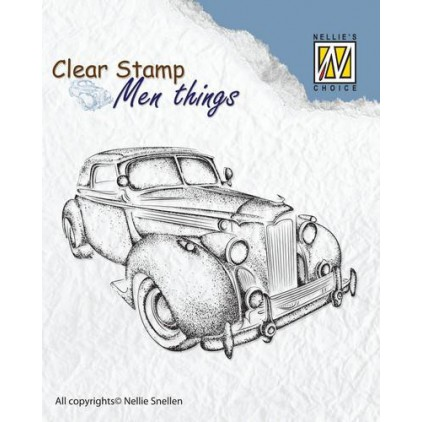 Set of clear stamps - Nellies's Choice - Oldtimer - CSMT007