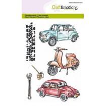Stemple / pieczątki -  Craft Emotions - Classic cars 2