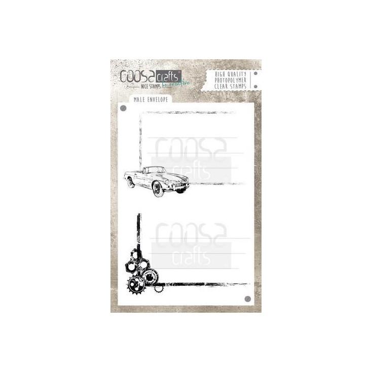Stemple / pieczątki - Coosa crafts - Wheels- COC-047