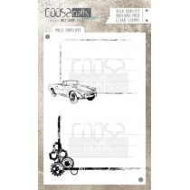 Stemple / pieczątki - Coosa crafts - Male env- COC-048