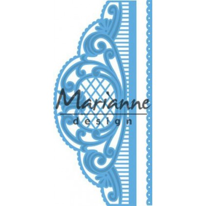 Wykrojniki - Marianne design - Craftables - LR0525 border