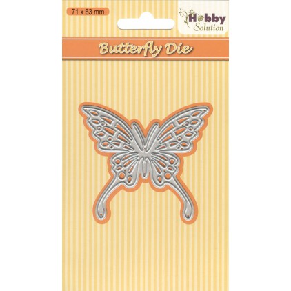 Die cut -  Nellies Choice Hobby Solutions - HSDJ005 - Butterfly-2