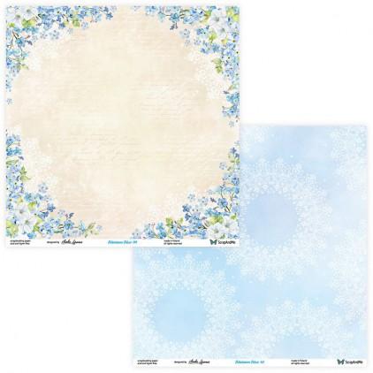 Papier do tworzenia kartek i scrapbookingu - ScrapAndMe - Blossom Blue - 09/10