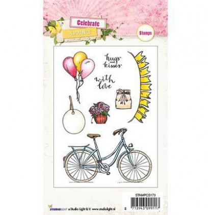 Stempel silikonowy - Studio Light - Celebrate Spring - STAMPCS173