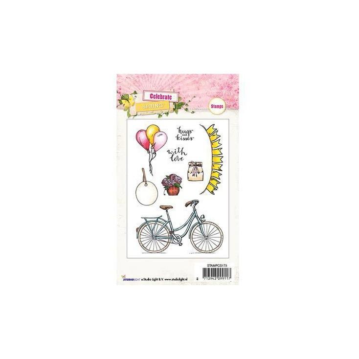 Clear stamp - Studio Light - Celebrate Spring - STAMPCS173