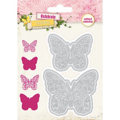 Die cut -Studio Light - -Celebrate Spring - STENCILCS34