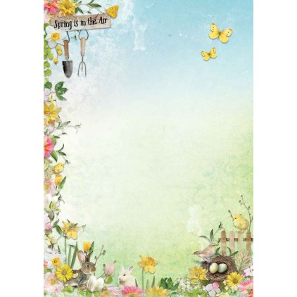 Papier do tworzenia kartek i scrapbookingu A4- Studio Light - Celebrate Spring BASISCS233