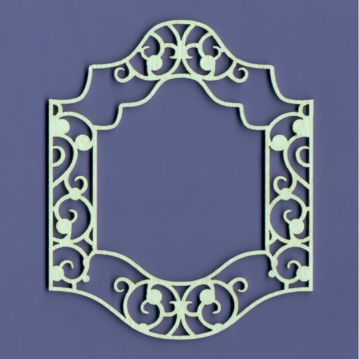 Cardboard element -Crafty Moly - Frame Santi double-layer G15