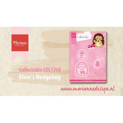 Wykrojniki Jeż - Marianne Design Collectables - COL1368