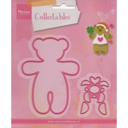 Die-cut- Marianne Design Collectables Bear- COL1376