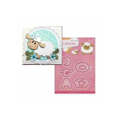Die-cut- Marianne Design Collectables Sheep- COL1385