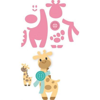 Wykrojniki Żyrafta - Marianne Design Collectables - COL1386