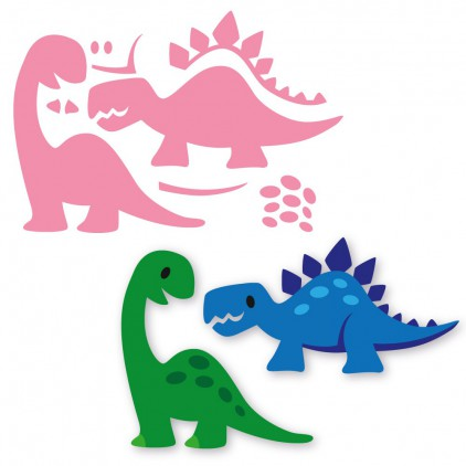 Die-cut- Marianne Design Collectables Dino's- COL1400