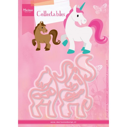 Die-cut- Marianne Design Collectables Unicorn- COL1408