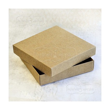 Box for square card 14,5 x 14,5 x 2,7 cm - craft - Latarnia Morska