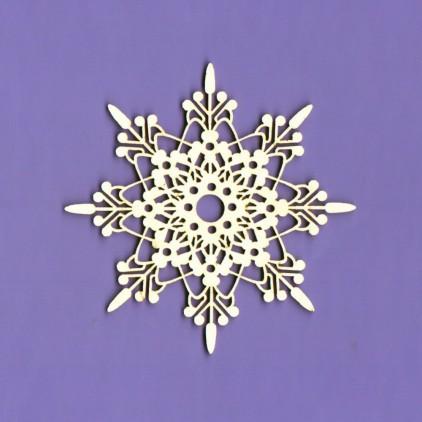 Tekturka -Crafty Moly - Snieżynka 3 - G7
