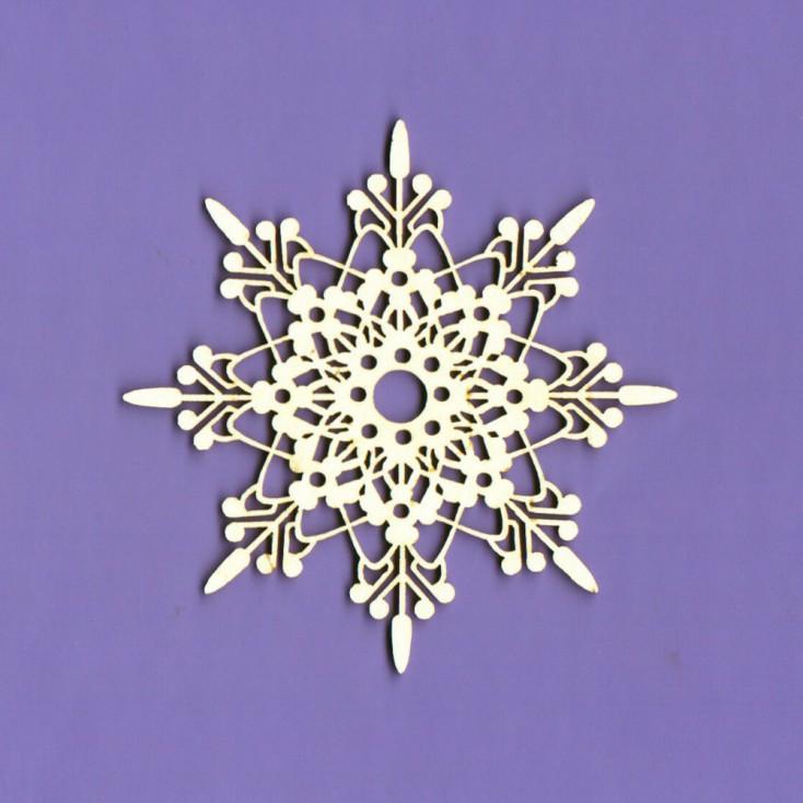Cardboard element -Crafty Moly - Snieżynka 3 - G7