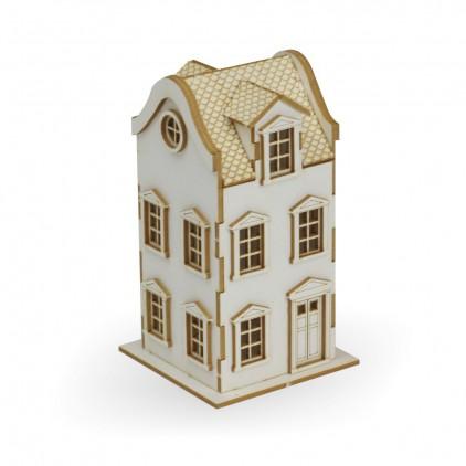 Cardboard element  3d -Crafty Moly - CraftyTown - Tenement 1