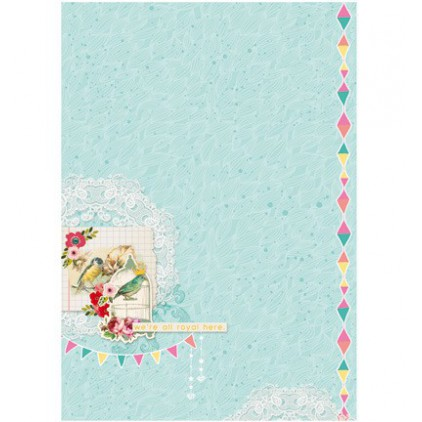 Papier do tworzenia kartek i scrapbookingu A4- Studio Light - Celebrate Spring BASISCS235