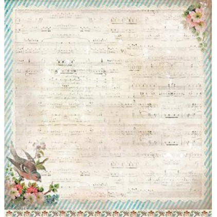 Papier do tworzenia kartek i scrapbookingu - Studio Light - Shabby chic - SCRAPSC02