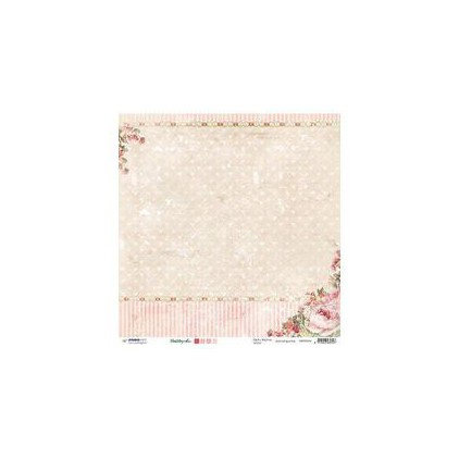 Papier do tworzenia kartek i scrapbookingu - Studio Light - Shabby chic - SCRAPSC04