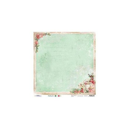 Papier do tworzenia kartek i scrapbookingu - Studio Light - Shabby chic - SCRAPSC05