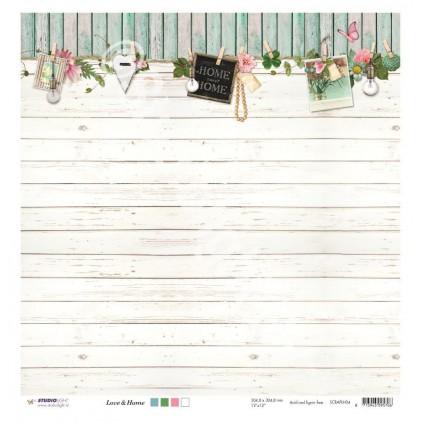 Scrapbooking paper - Studio Light - Love & Home - SCRAPLH04